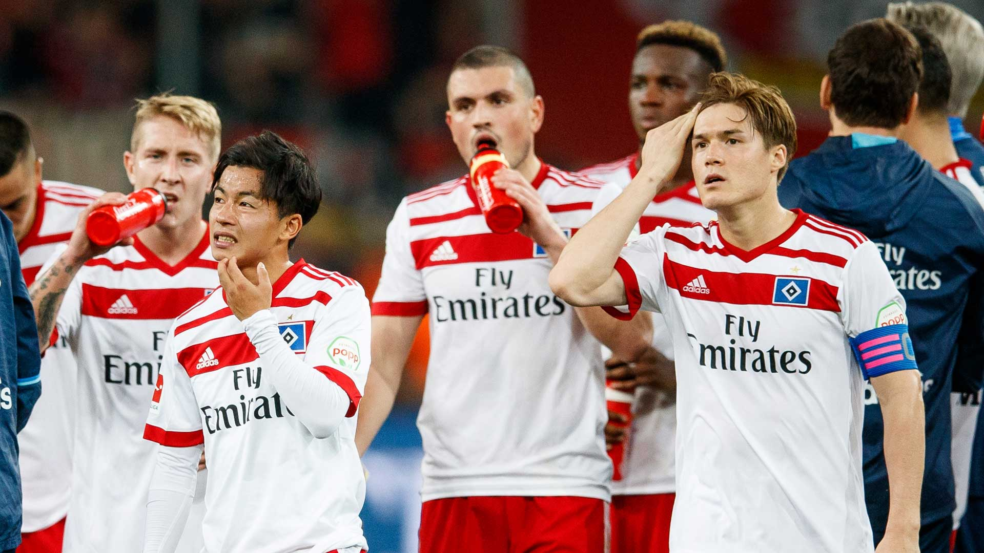 Hamburger SV feiert sein 17-jähriges Sturmjuwel Arp