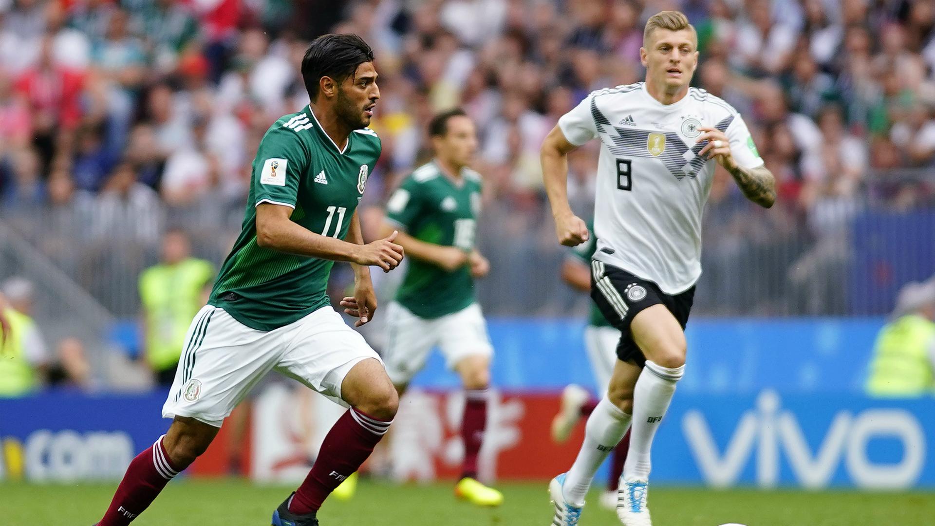 Carlos Vela México Alemania Mundial Rusia 2018