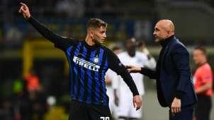 Sebastiano Esposito Luciano Spalletti Inter