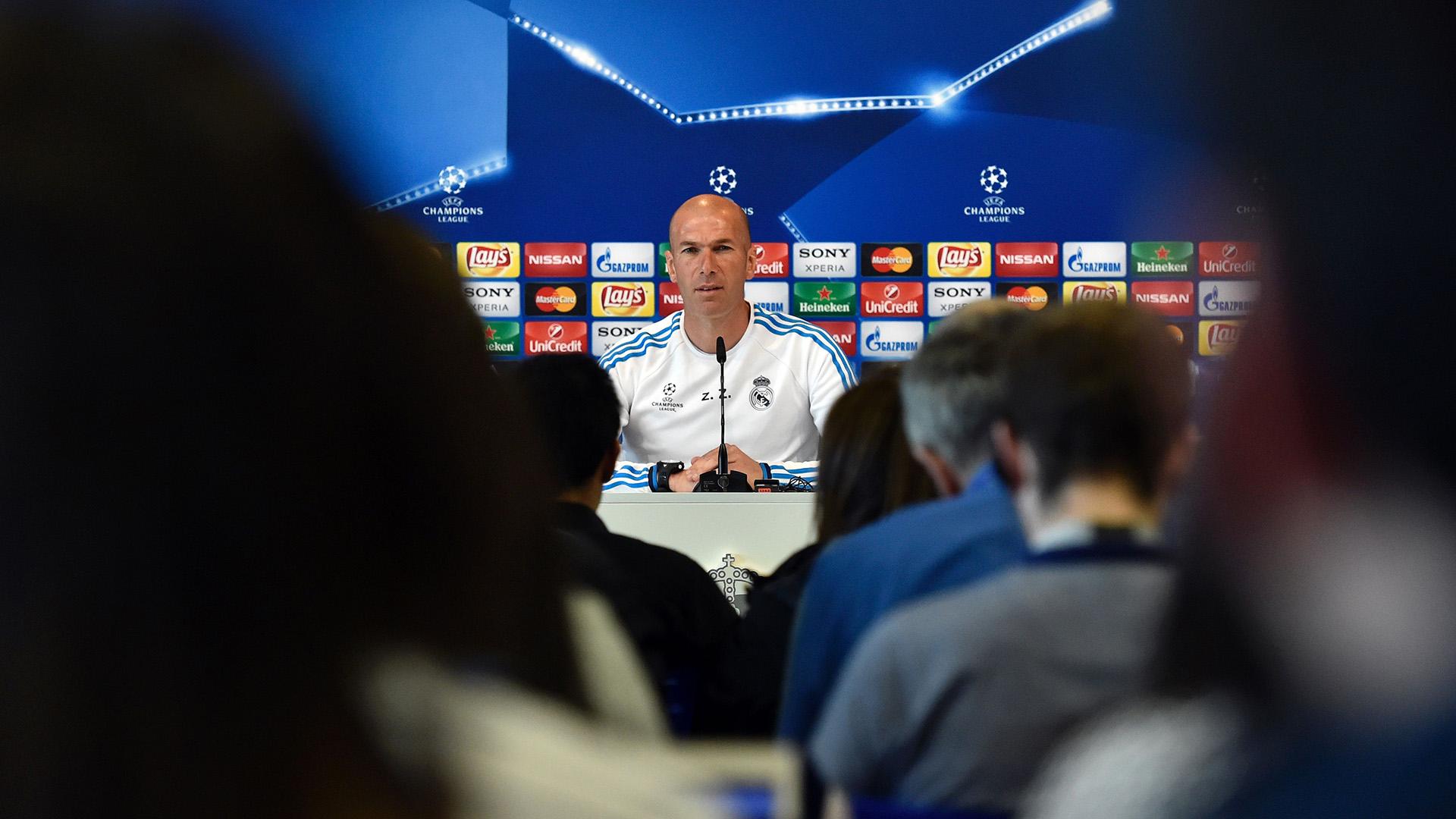 Zidane Real Madrid Journalism football reporters