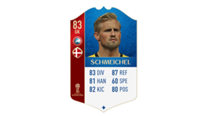 FIFA 18 UEFA World Cup Ratings Schmeichel