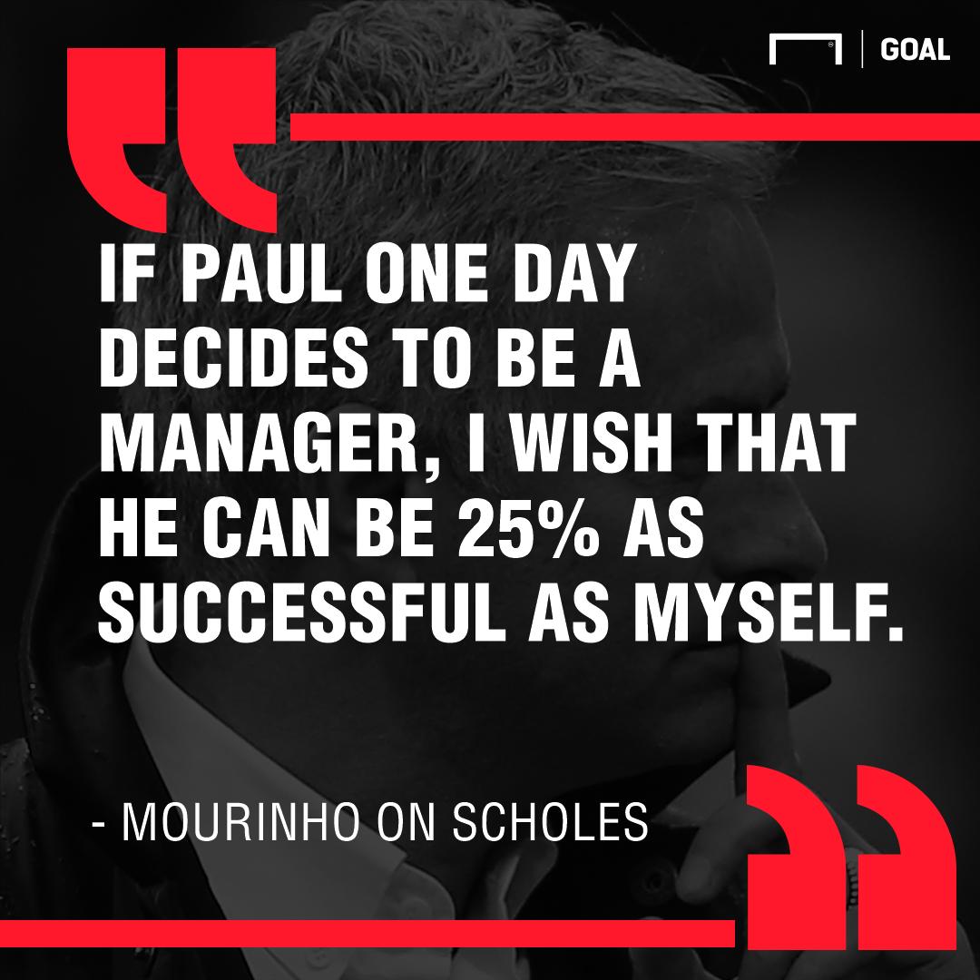 Jose Mourinho on Paul Scholes