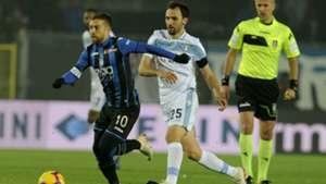 Alejandro Gomez Milan Badelj Atalanta Lazio Serie A