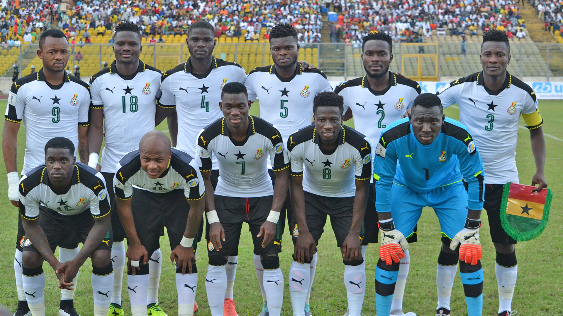 Ghana captain Asamoah Gyan hails teammates after heavy Congo win