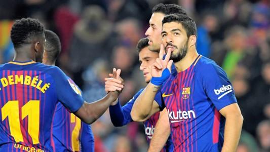 Luis Suarez Barcelona Girona LaLiga 24022018