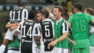 Juventus celebration vs Inter