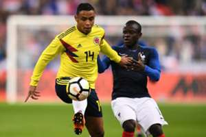Luis Muriel Colombia - Francia Amistoso 2018