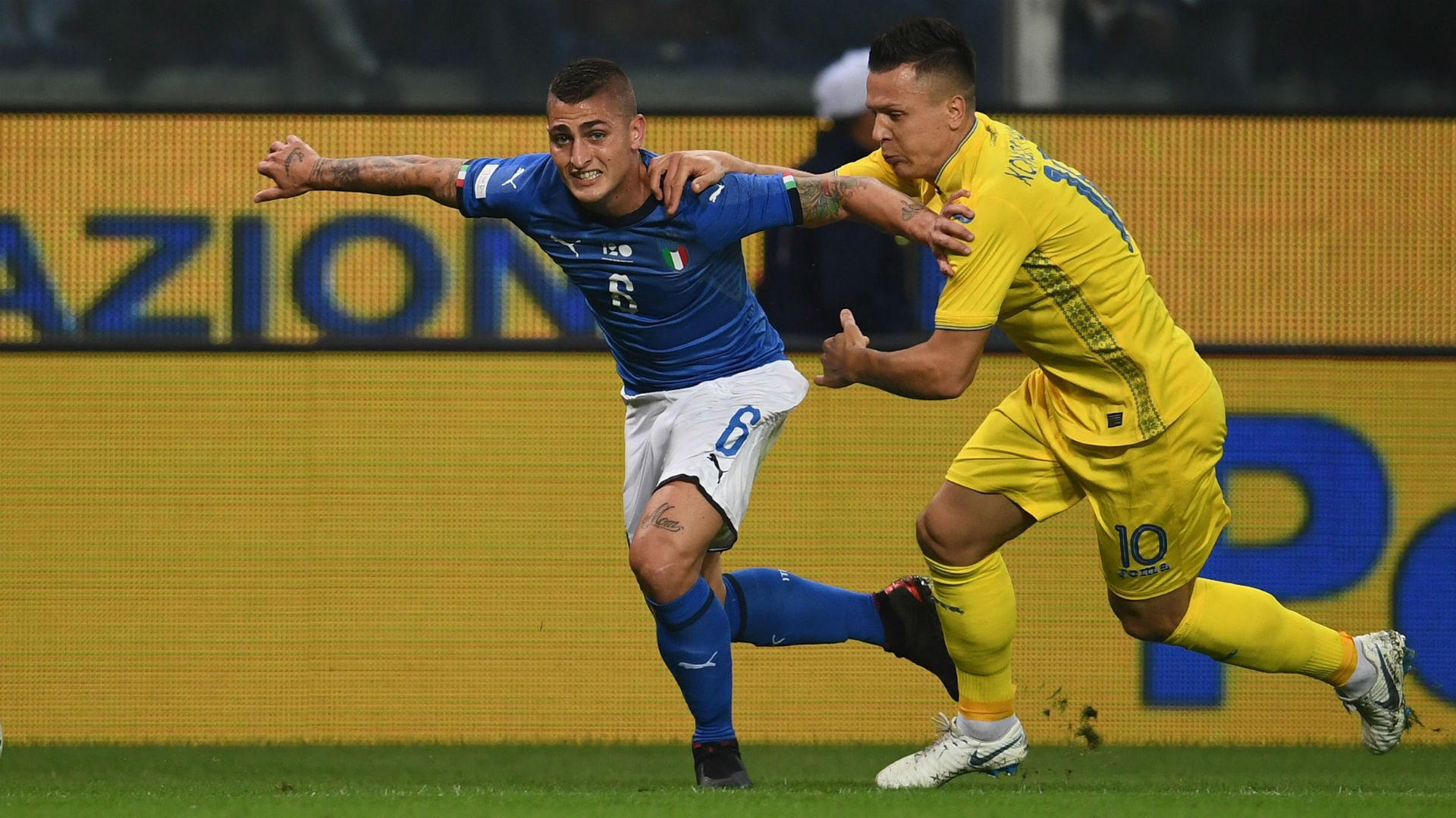 Verratti Italy Ukraine