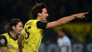 Mats Hummels Dortmund Marseille 10012013