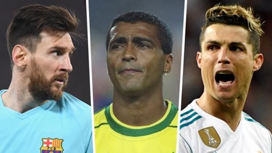 Cristiano Ronaldo Lionel Messi Romario Pele Who Are The Top