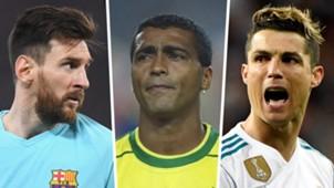 Lionel Messi Romario Cristiano Ronaldo