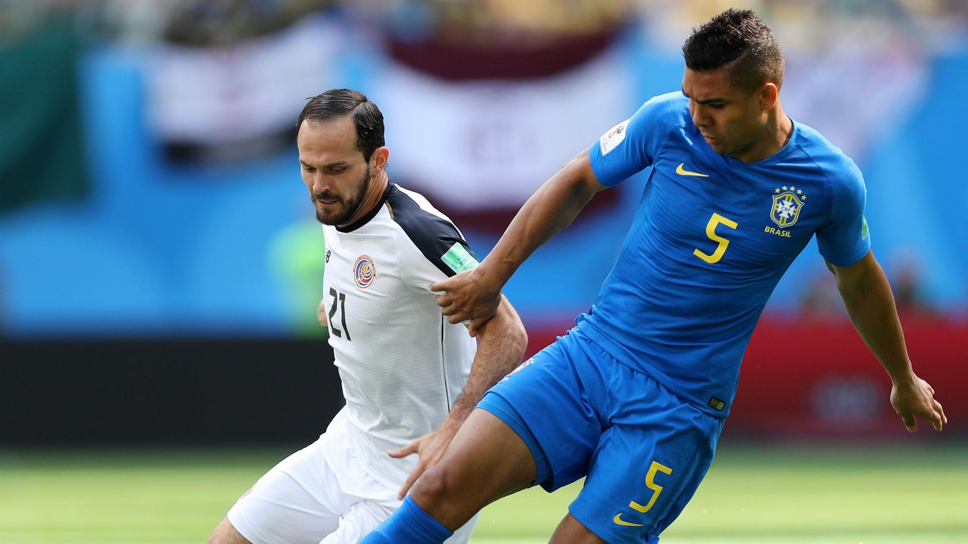 Casemiro I Brasil Costa Rica I 22 06 18 I Copa do Mundo