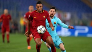 Juan Jesus Lionel Messi Roma Barcelona Champions League