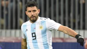 Sergio Aguero Argentinien 10112017