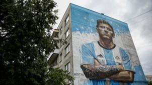 Lionel Messi Russia 2018