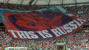 العنصرية وروسيا في كأس العالم