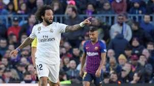Marcelo Barcelona Real Madrid LaLiga 28102018