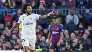 Marcelo Barcelona Real Madrid LaLiga 28102018