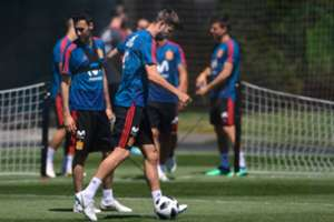España entrenamiento Mundial Rusia 2018