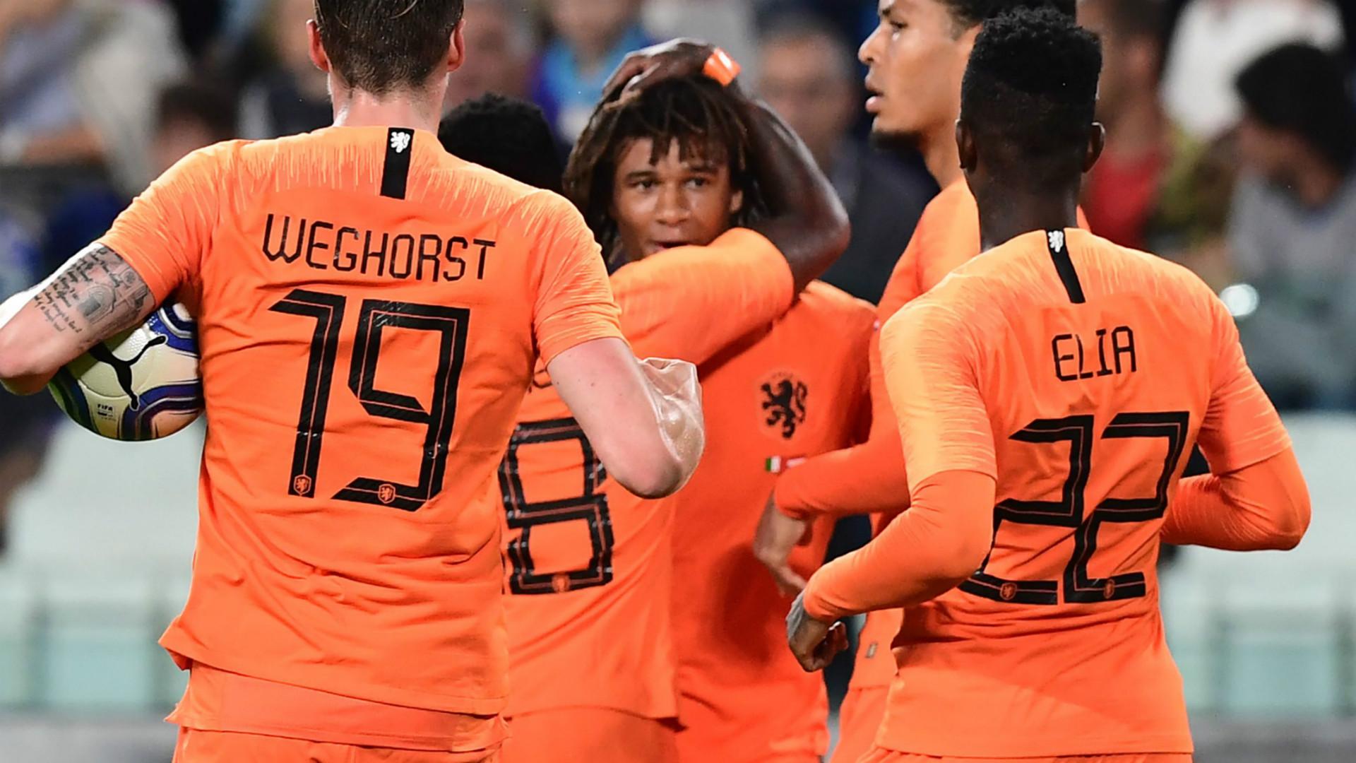 Netherlands celebrate 2018