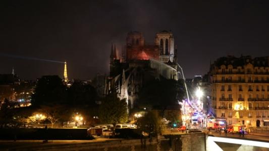 'It is absolute sadness' - Footballers heartbroken by Notre Dame fire