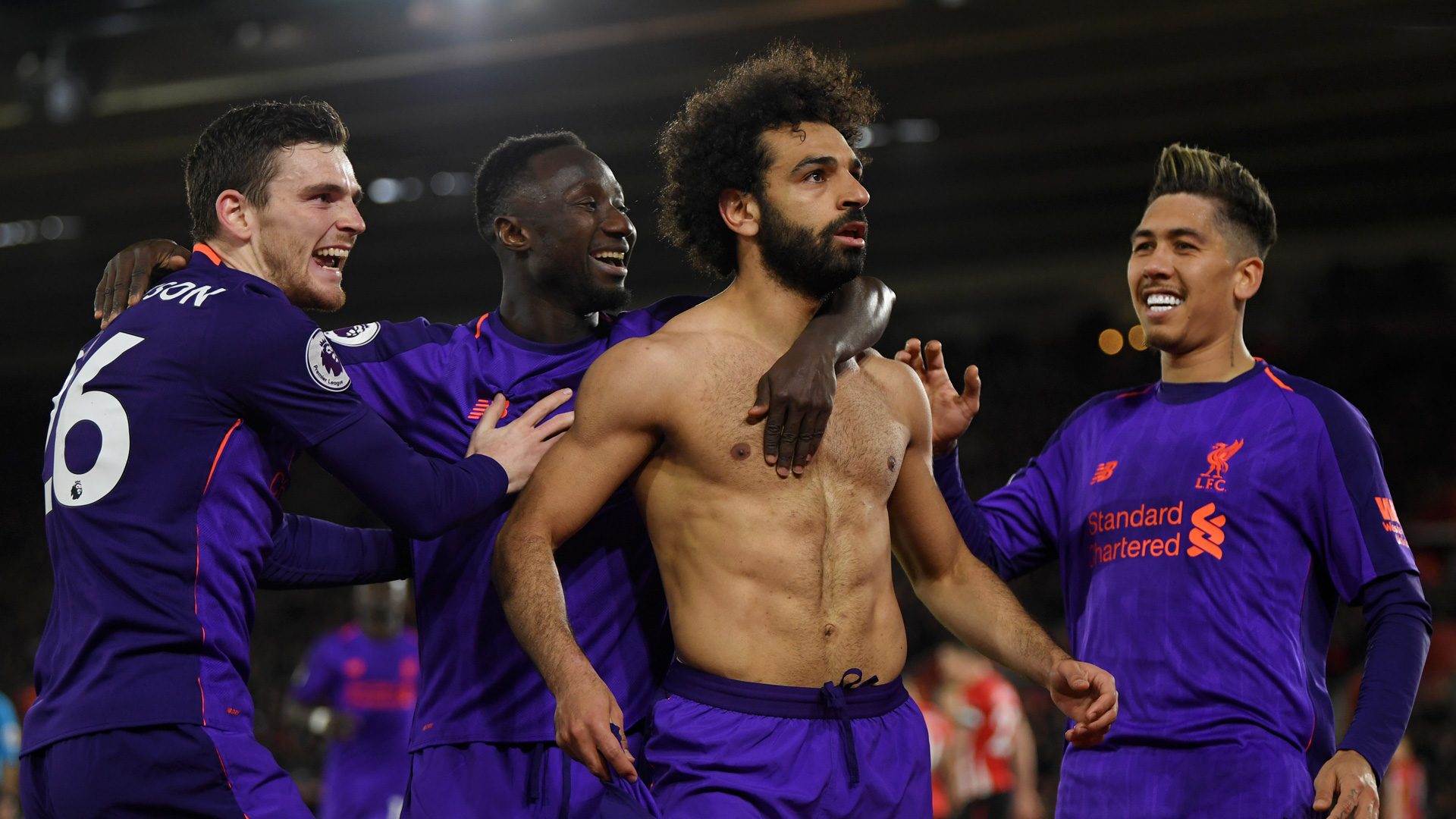 Mohamed Salah Liverpool Southampton 0419