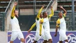 Sundowns celebrate Tshwane Derby win over SuperSport United, December 2, 2018
