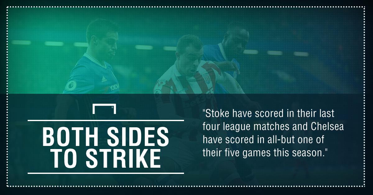 Stoke Chelsea graphic