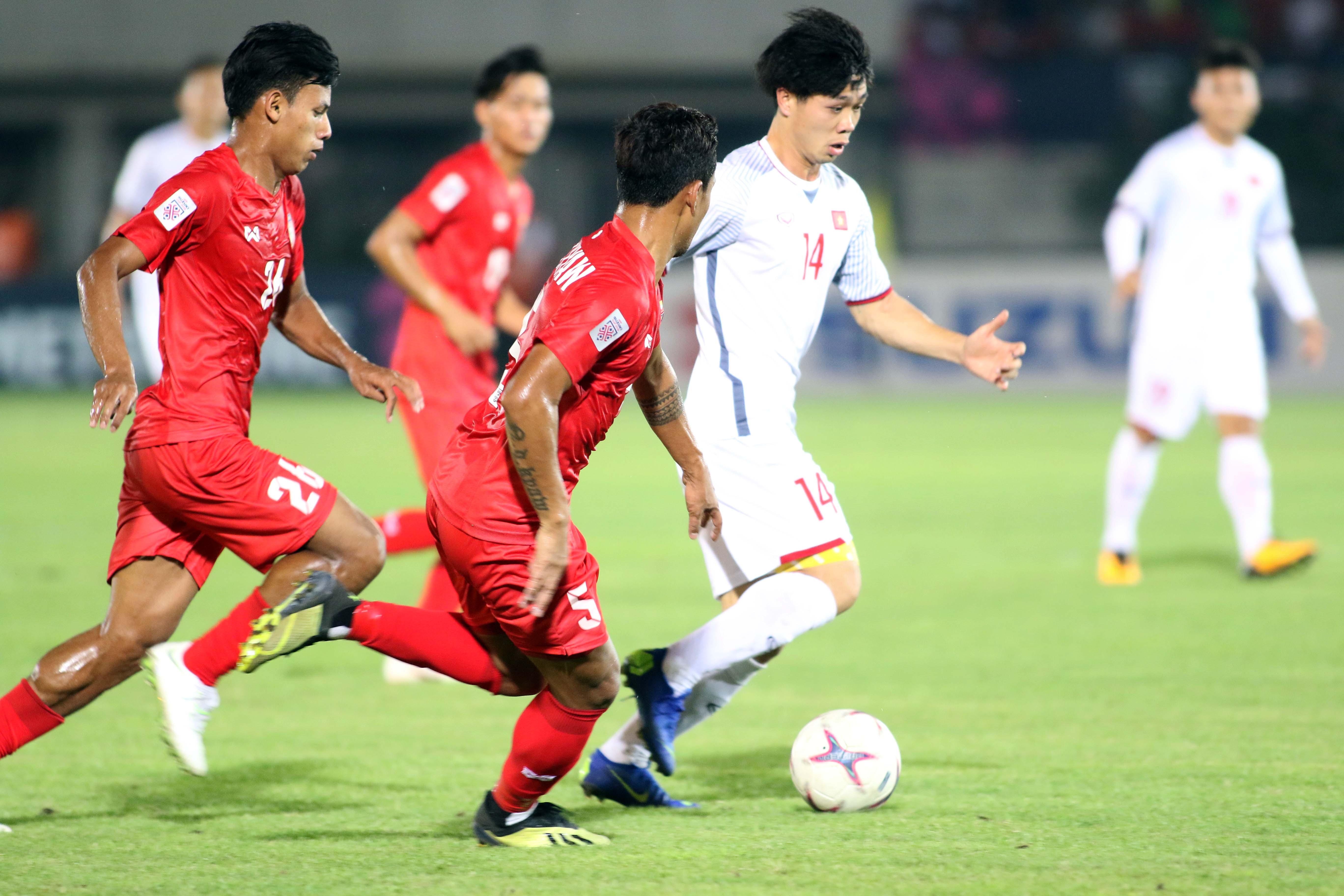 Công Phượng - Myanmar vs Vietnam AFF Suzuki Cup 2018