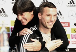 Joachim Löw Lukas Podolski PK Pressekonferenz DFB Deutschland Germany 21032017