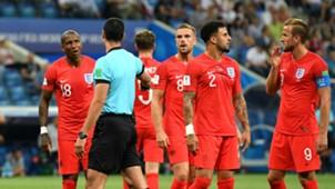 England Tunisia referee World Cup