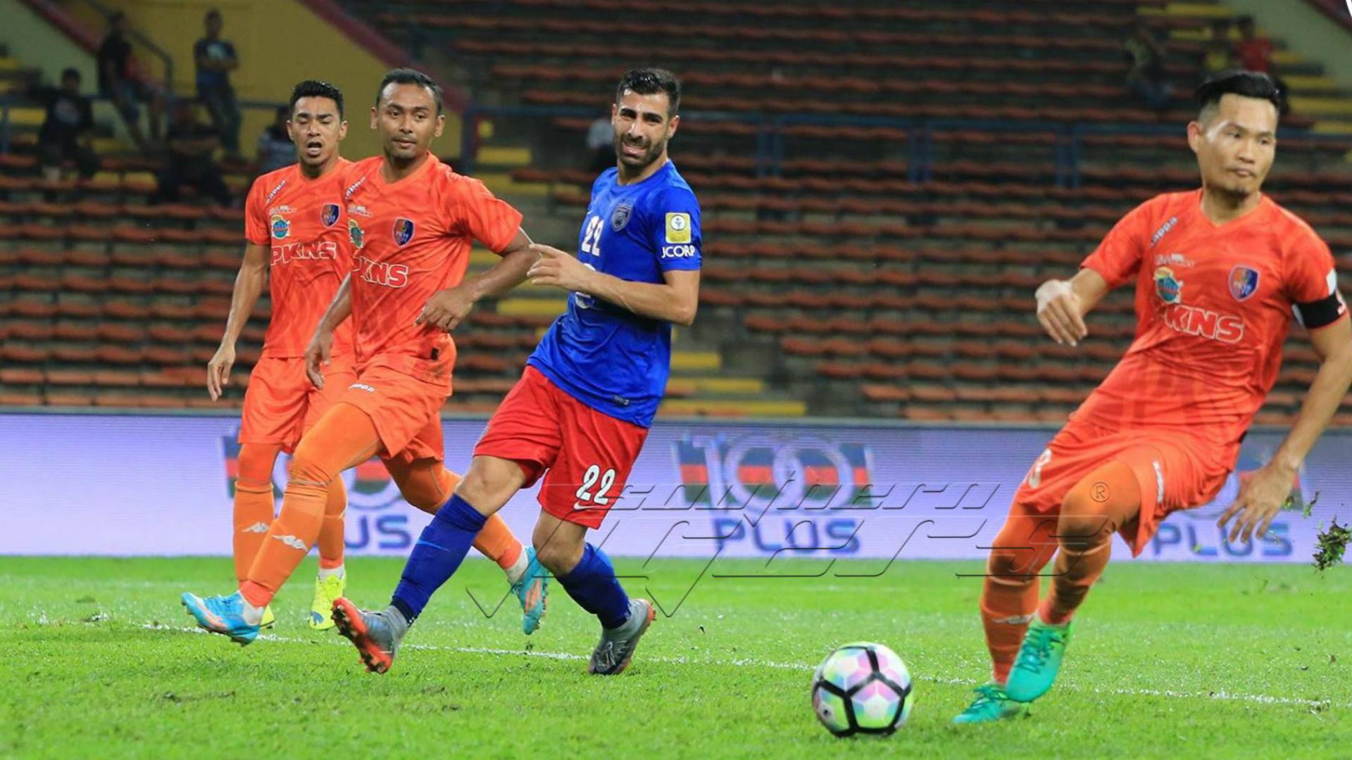Ghaddar, Johor Darul Ta'zim, Fauzan Dzulkifli, PKNS, Super League, 25/05/2017