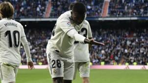 Vinicius Junior Real Madrid Valladolid Real Madrid 04 11 2018