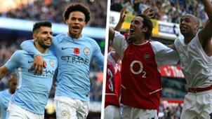 Manchester City Arsenal Invincibles Split