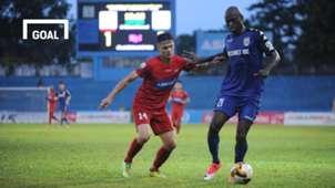 Hải Phòng B.Bình Dương Vòng 19 V.League 2018
