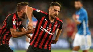 Giacomo Bonaventura Napoli Milan Serie A 08252018
