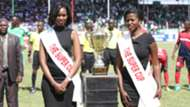 Gor Mahia v AFC Leopards and KPL trophy.