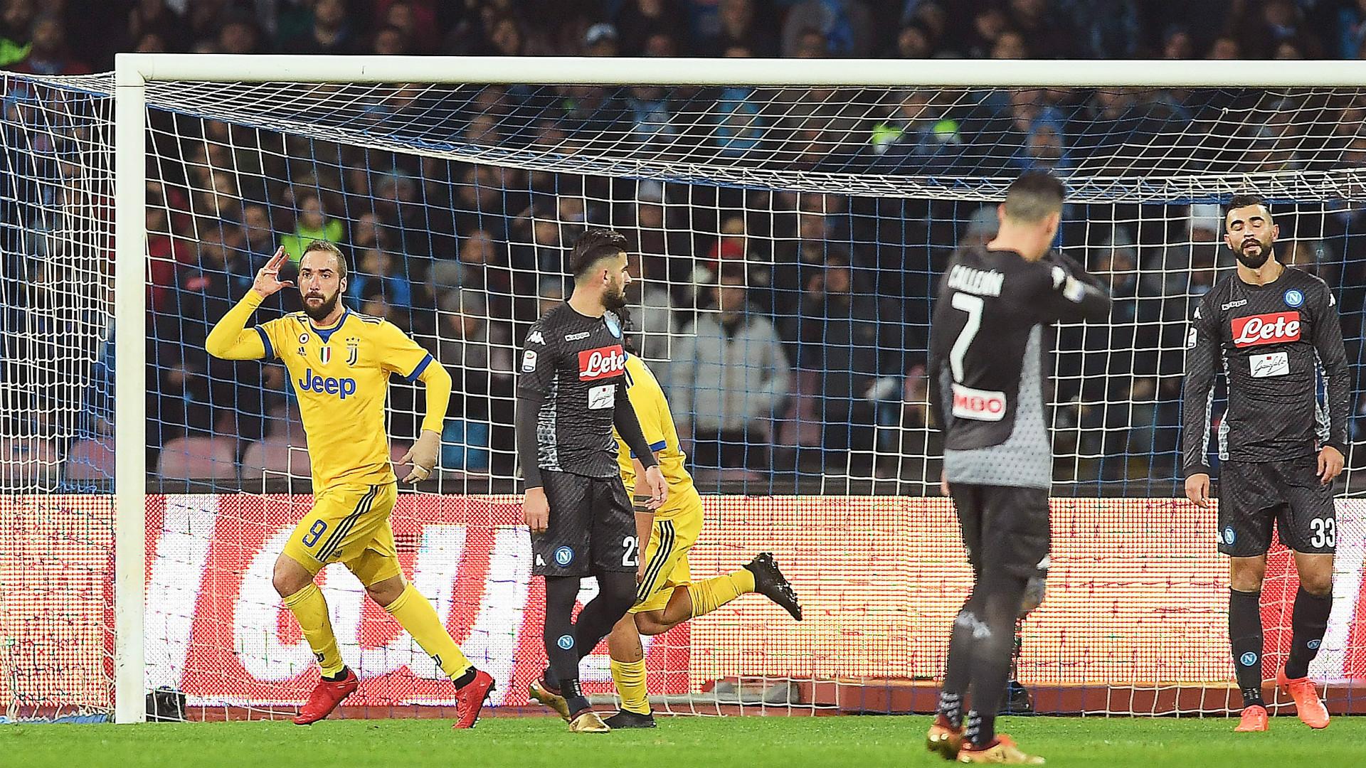 Gonzalo Higuain Napoli Juventus Serie A