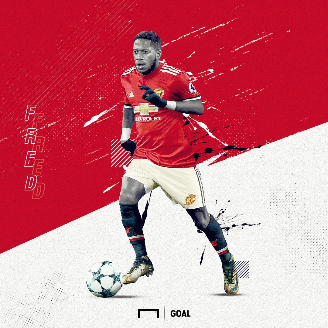 EMBED ONLY Fred Manchester United GFX