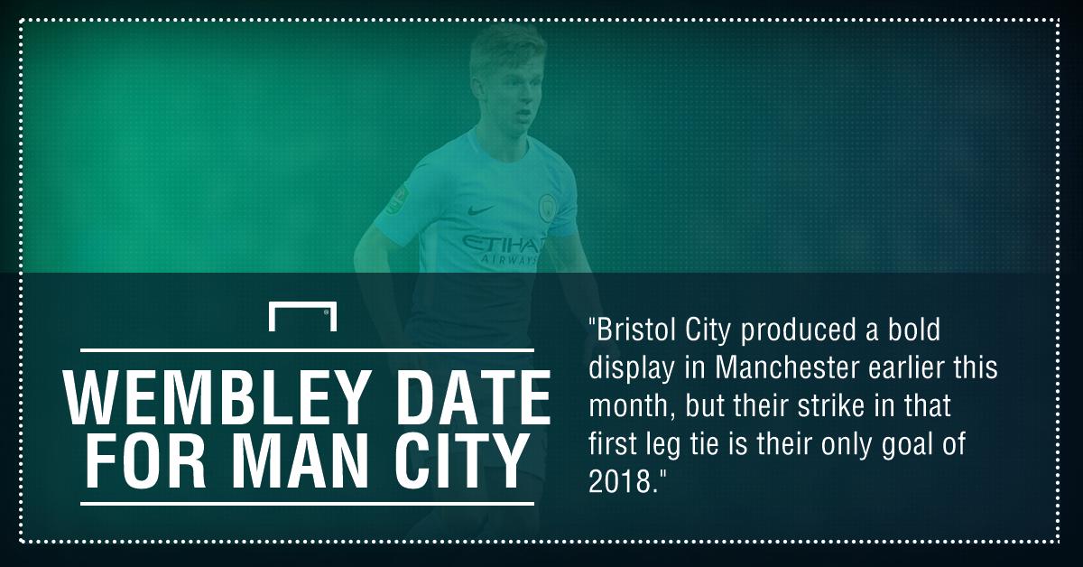 Bristol City Man City graphic