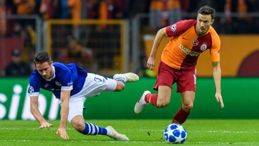Martin Linnes Mark Uth Galatasaray Schalke UCL 10242018