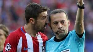 Gabi Cakir Atletico Madrid Real Madrid UEFA Champions League