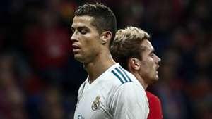 Cristiano Ronaldo Antoine Griezmann 18112017 Atletico Madrid Real Madrid La Liga