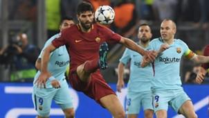Federico Fazio Roma Barcelona 10042018 Champions League