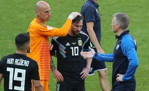 Messi dissapointed after ISL game