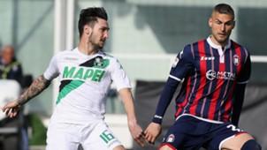 Matteo Politano, Aleandro Rosi, Crotone, Sassuolo, Serie A, 03052017