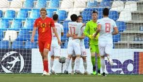 Spain Belgium Spanyolország U21