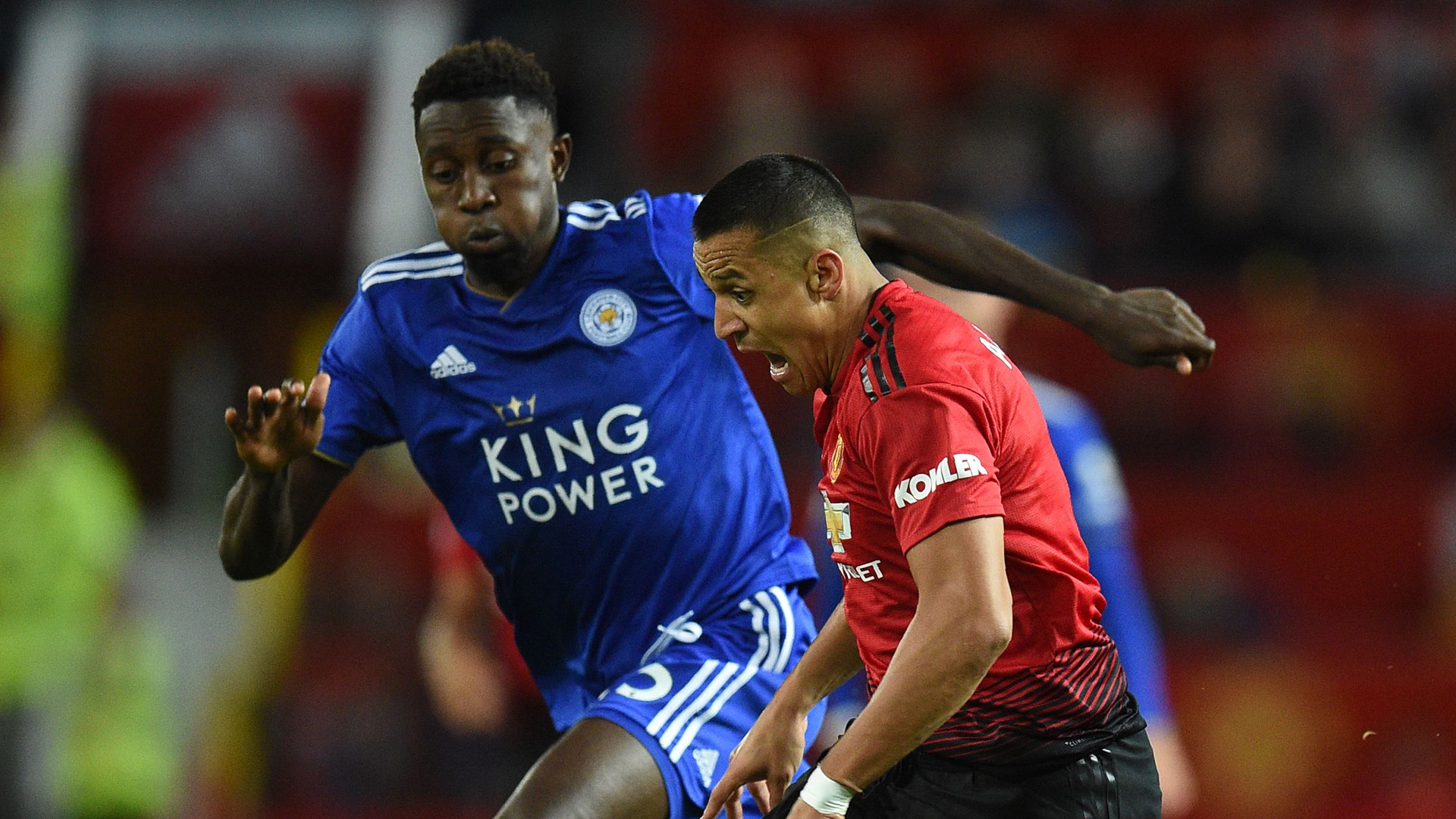 Wilfred Ndidi Leicester Alexis Sanchez Manchester United
