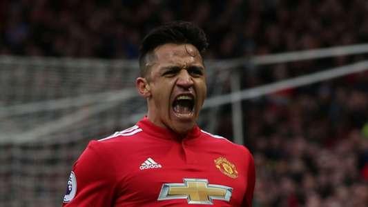 Alexis Sanchez Manchester United Swansea City Premier League