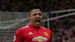 Alexis Sanchez Manchester United Swansea City Premier League